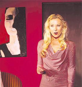 Cornelia Bielefeldt in der Rolle als Marie.